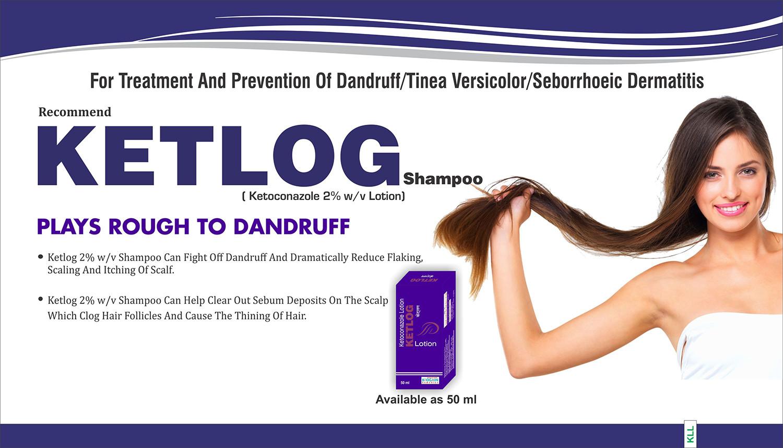 Ketlog shampoo